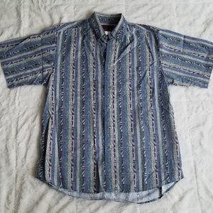 Wrangler Shirts - ♦️SOLD♦️ Vintage 90's Wrangler Aztec Print Shirt